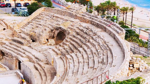 Amphithéâtre Tarragone Espagne