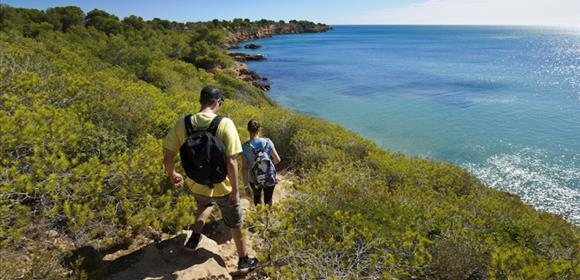 Treccking randonnée ametlla de mar catalogne costa dorada espagne